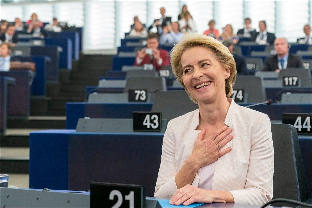 Ursula vor den Leyen (zdj. flickr, European Parliament CC)