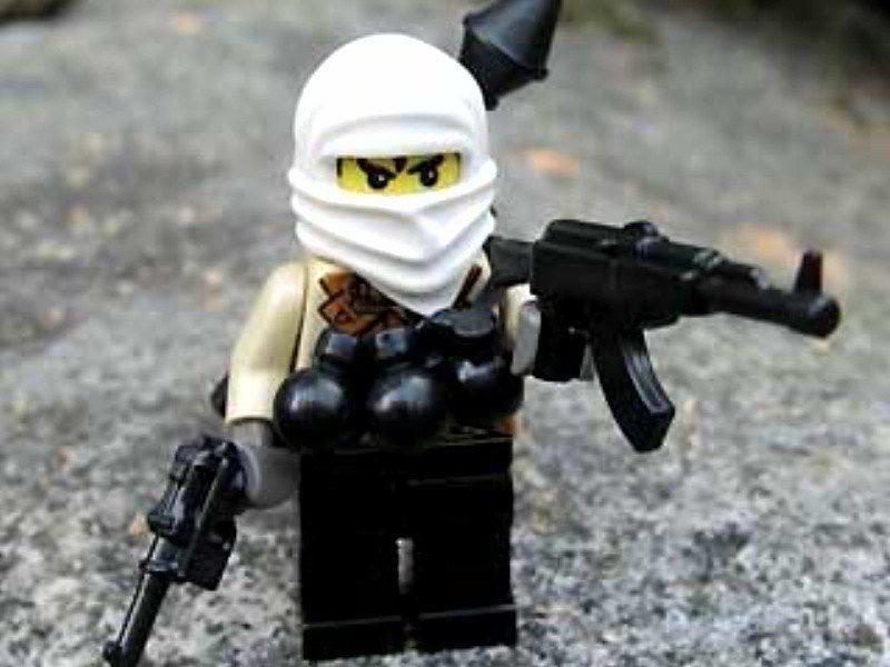 Figurki przypominające Lego jako terroryści (zdj. ilustracyjne, Flickr)