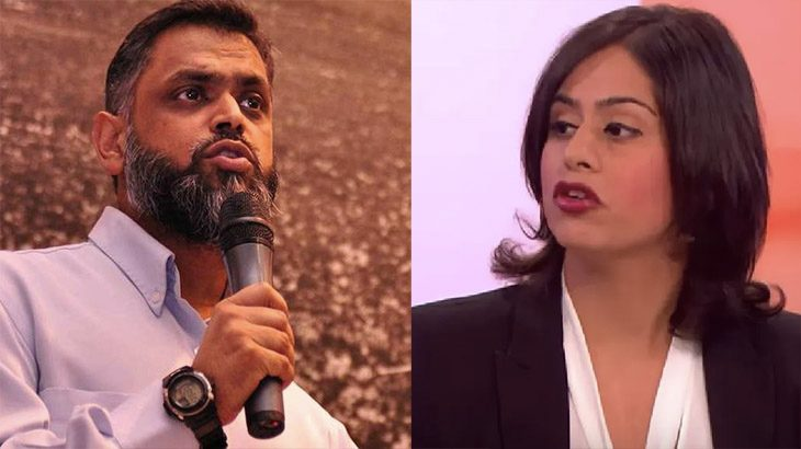 Moazzam Begg z Cage i Sara Khan